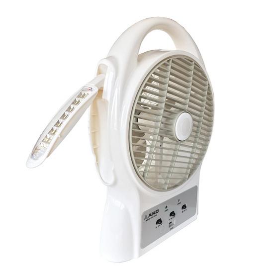 AIKO พัดลม มินิ Rechargeable รุ่น Fan KN-3708 ขาว