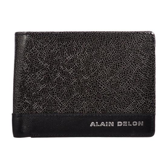 Alain Delon กระเป๋าสตางค์ AD 72-0068 สีดำ