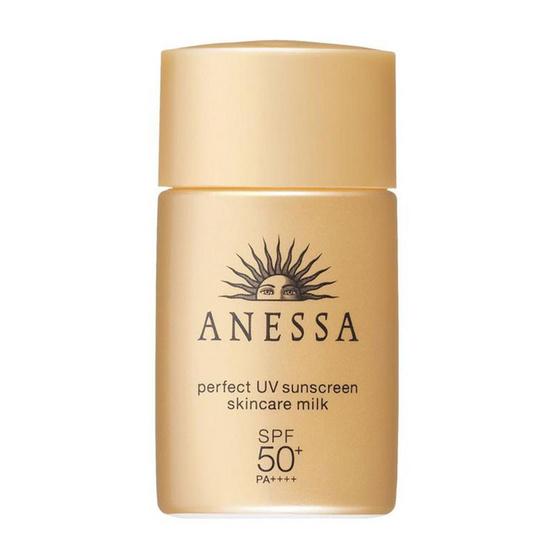 Pantip !! Anessa Perfect UV Sunscreen Milk 20 ml - Anessa, ผลิตภัณฑ์ความงาม
