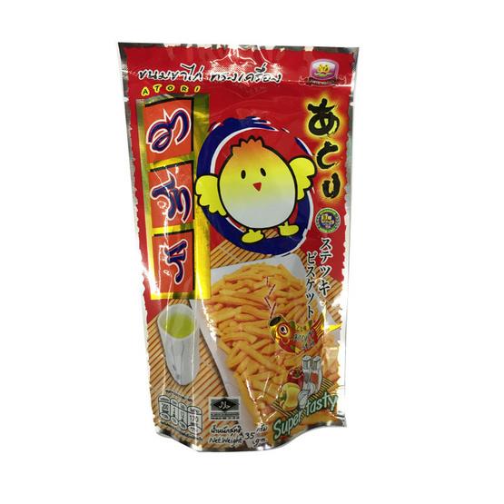 Atori อาโทริ ขนมขาไก่ ทรงเครื่อง ขนาด 35 g. (12 ชิ้น)
