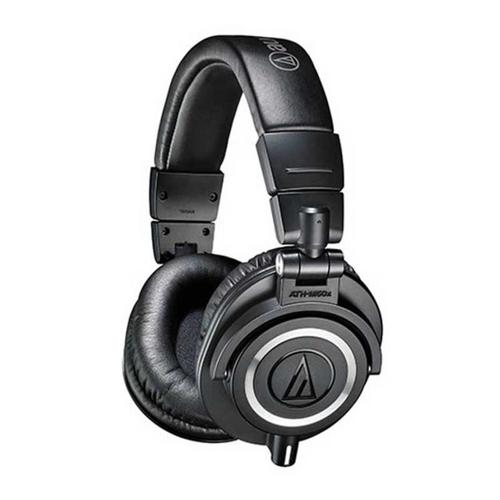 ซื้อ Audio-Technica ATH-M50x Headphones