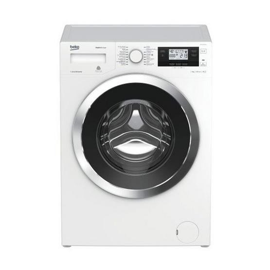 ซื้อ BEKO เครื่องซักผ้าฝาหน้า รุ่น WMY 91493 LB1 (สีขาว)