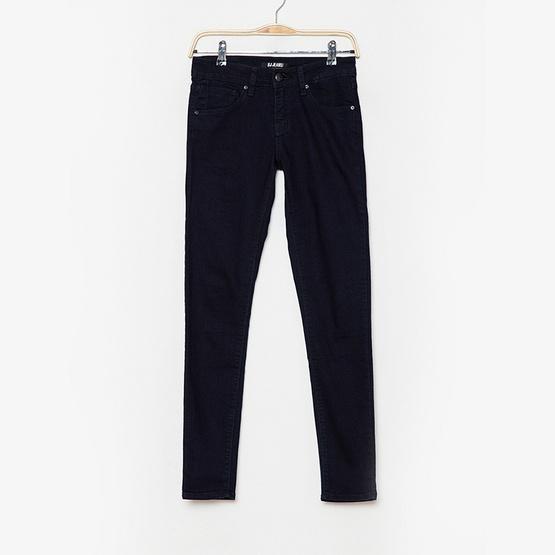 BJ Jeans กางเกงยีนส์ Solid-rinsed High-rise Skinny