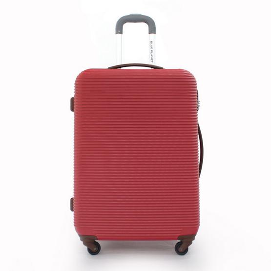 BLUE PLANET กระเป๋าเดินทาง 25 นิ้ว รุ่น 8111 สีแดง
