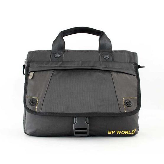 BP WORLD กระเป๋าสะพาย รุ่น B8618 สีดำ