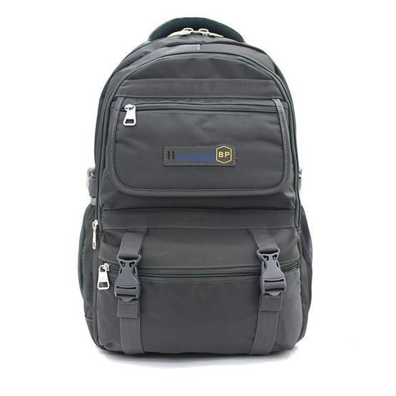 BP WORLD กระเป๋าเป้ รุ่น PN95001 สีเทา