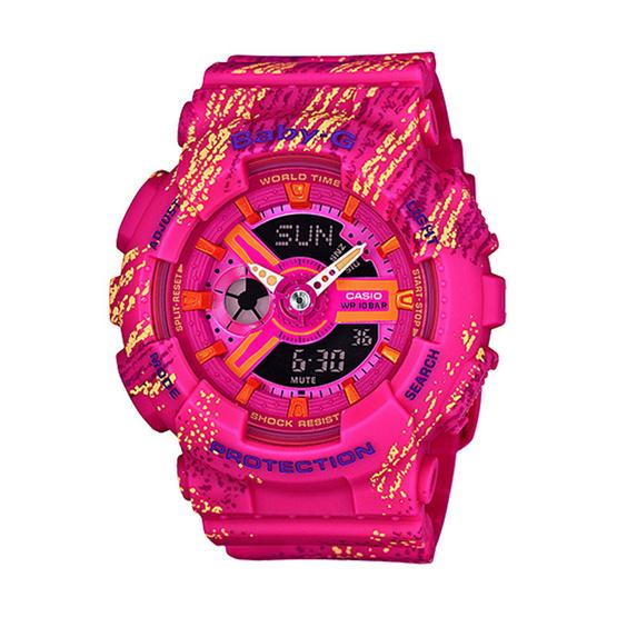 Baby-G นาฬิกาข้อมือ Analog-Digital รุ่น BA-110TX-4ADR