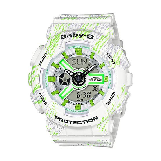 Baby-G นาฬิกาข้อมือ Analog-Digital รุ่น BA-110TX-7ADR