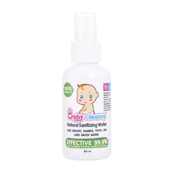 ซื้อ Babycleansy Natural Sanitizing Water 100 ml. (แพ็คเดี่ยว)