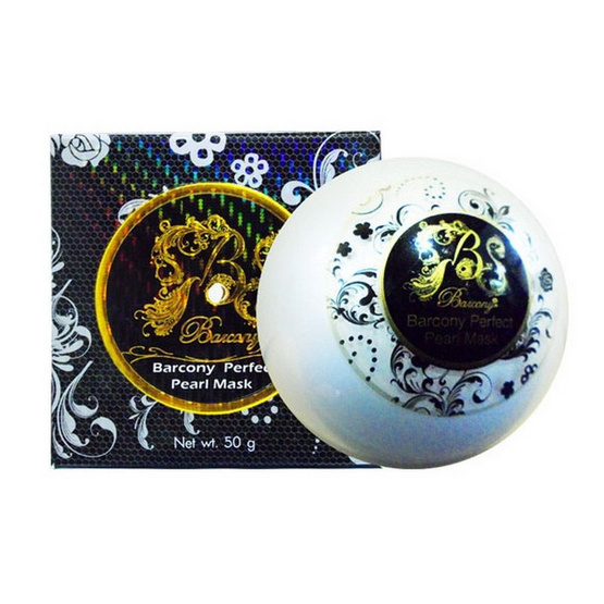 Barcony Once Day Perfect Pearl Mask 50g.
