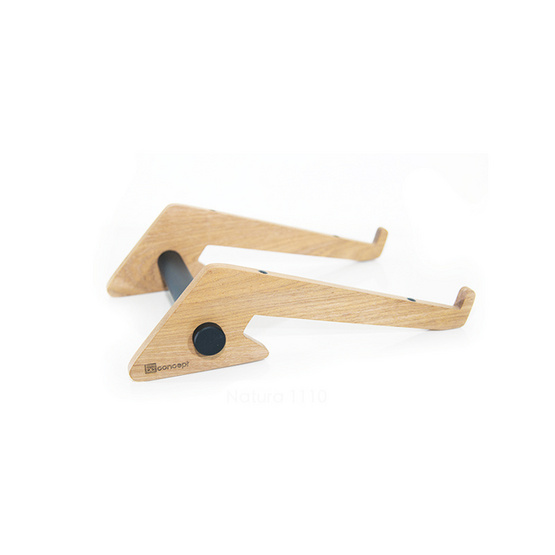Be Concept Laptop Stand Natura 1110 Solid Wood