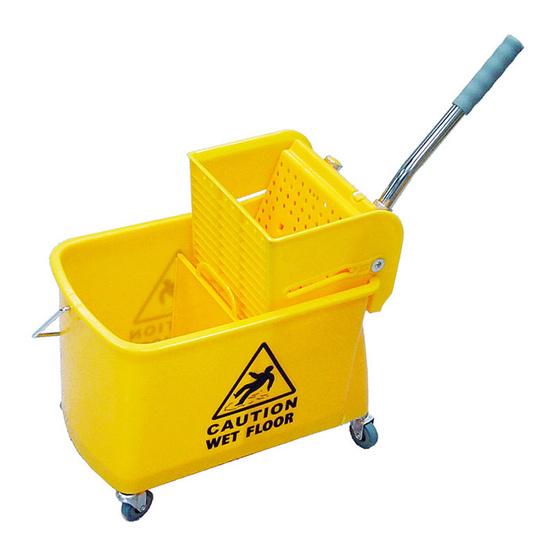 Be Man ถังบีบน้ำไม้ถูพื้น BMU01 สีเหลือง