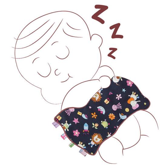 Beanie Nap หมอนกันสะดุ้งริบบิ้น Comforter Pillow Twilight Zoo