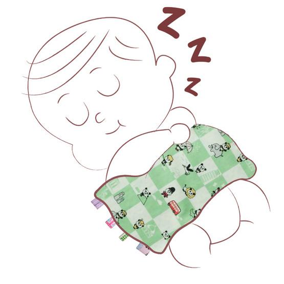 Beanie Nap หมอนกันสะดุ้งริบบิ้น Comforter Pillow_ Panda