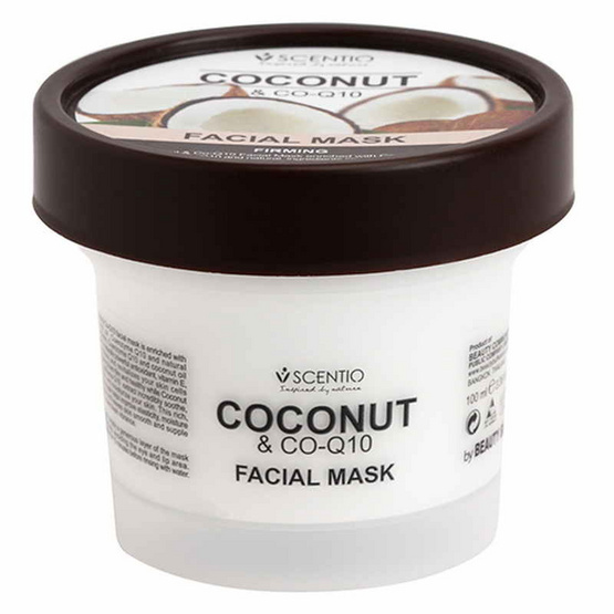 Beauty Buffet Scentio Coconut &Co-Q10 Facial Mask 100ml