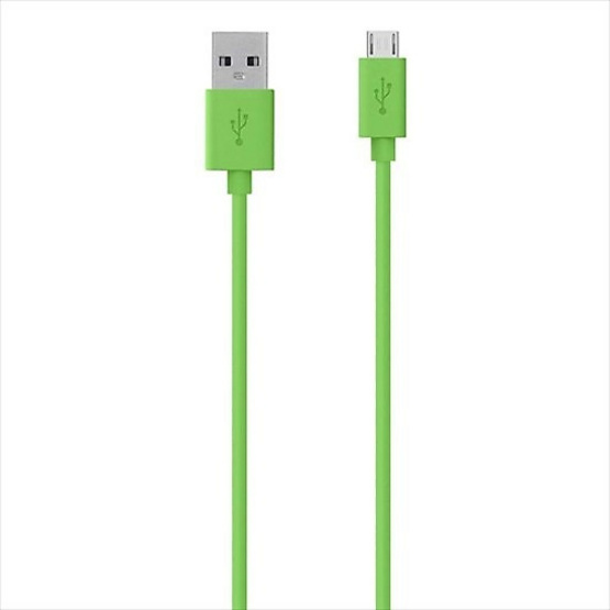 Belkin สาย Cable รุ่น USB-A to Micro USB-B Cable Sync and Charge Cable 1.2 Meter/4 Feet  Green