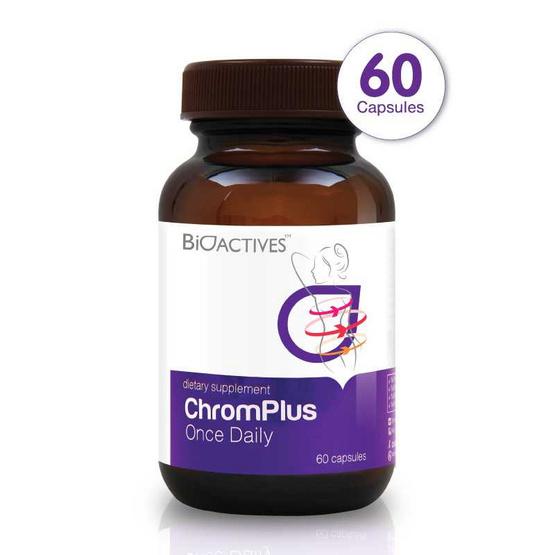 BioActives ChromPlus Once Daily (ไบโอแอคทีฟ โครมพลัส วันส์ เดลี่ ปรับสมดุลระบบเผาผลาญ) บรรจุ 60 แคปซูล