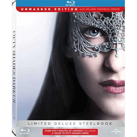 ซื้อ Blu ray ฟิฟตี้เชดส์ ดาร์กเกอร์ (กล่องเหล็ก+2 มิติ+ แผ่นดีวีดีโบนัส)