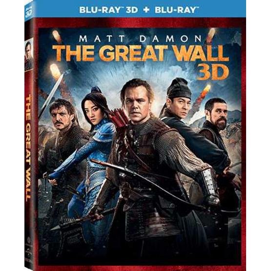 ซื้อ Blu ray  3D + 2D +การ์ด 3D เดอะ เกรท วอลล์