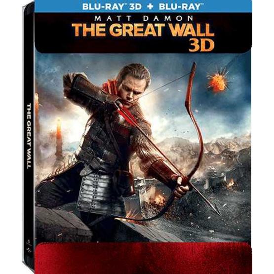 ซื้อ Blu ray 3 มิติ+ 2 มิติ +กล่องเหล็ก) เดอะ เกรท วอลล์