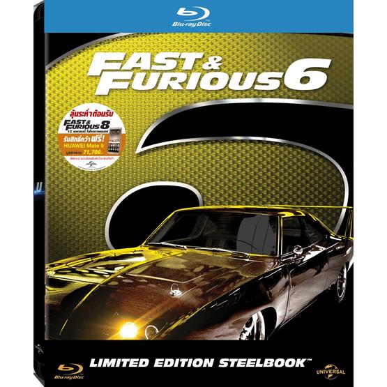 ซื้อ Blu ray เร็ว...แรงทะลุนรก 6 (ปกใหม่)