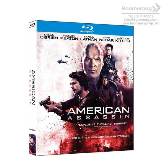 Blu ray American Assassin (2017) อหังการ์ทีมฆ่า