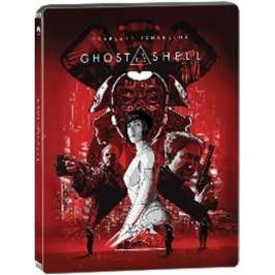 ซื้อ Blu ray Ghost in the Shell (3D+BD Steel Book) โกสต์ อิน เดอะ เชลล์