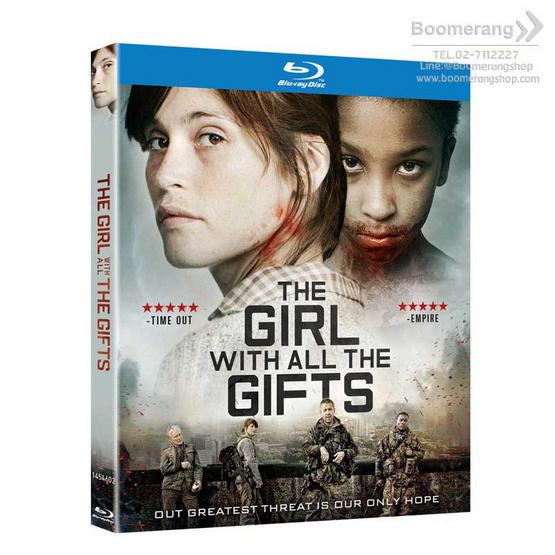 Blu ray The Girl With All The Gift เชื้อนรกล้างซอมบี้