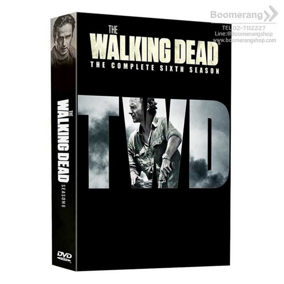 Box set DVD The Walking Dead Season 6 รูบที่ 1