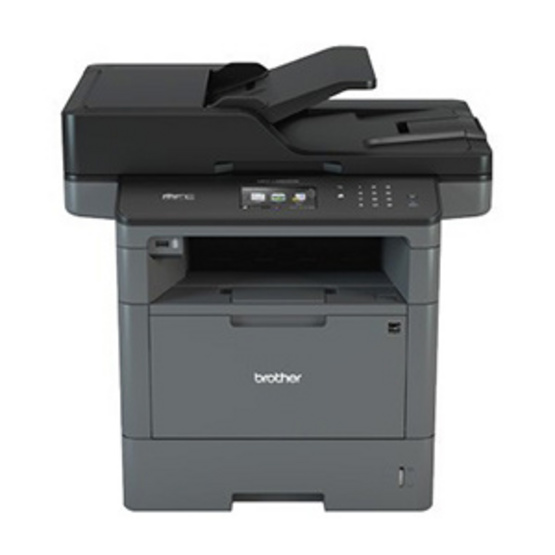 Brother Mono Laser MFC Printer รุ่น DCP-L5600DN (Without Fax)