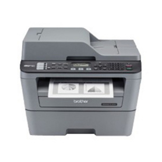Brother Mono Laser MFC Printer รุ่น MFC-L2700D (With Fax)