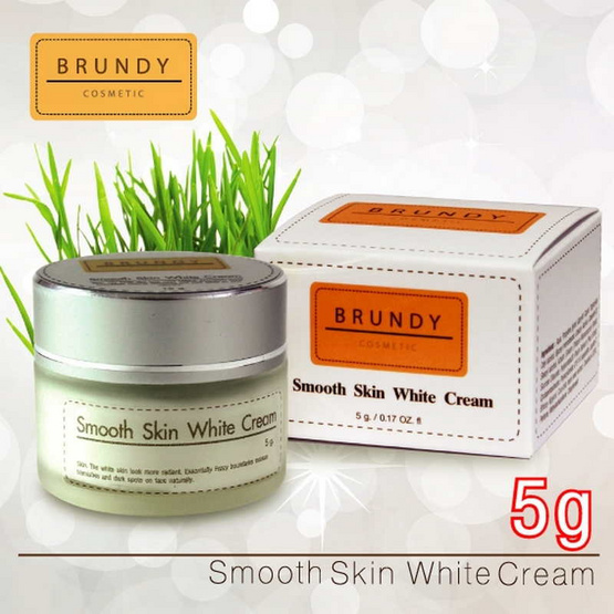 Brundy Smooth Skin White Cream 5g.