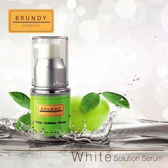 Brundy White Solution Serum 10ml.
