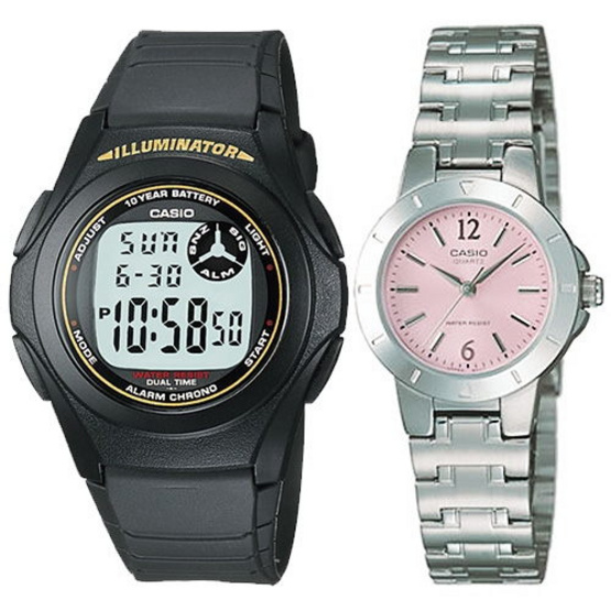 CASIO นาฬิกาข้อมือ 2 เรือน CN10