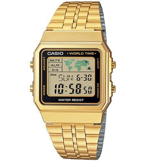 CASIO นาฬิกาข้อมือ รุ่น A500WGA-1DF