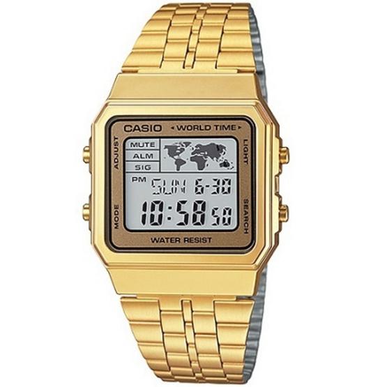 CASIO นาฬิกาข้อมือ รุ่น A500WGA-9DF