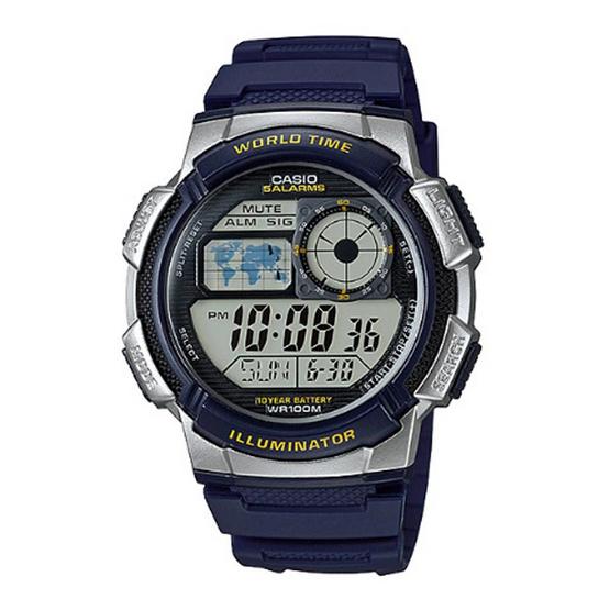 CASIO นาฬิกาข้อมือ รุ่น AE1000W-2AVDF
