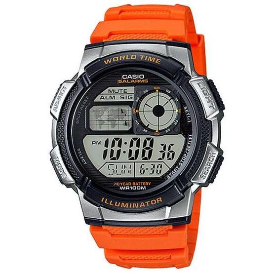 CASIO นาฬิกาข้อมือ รุ่น AE1000W-4BVDF