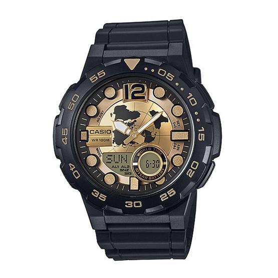 CASIO นาฬิกาข้อมือ รุ่น AEQ-100BW-9AVDF