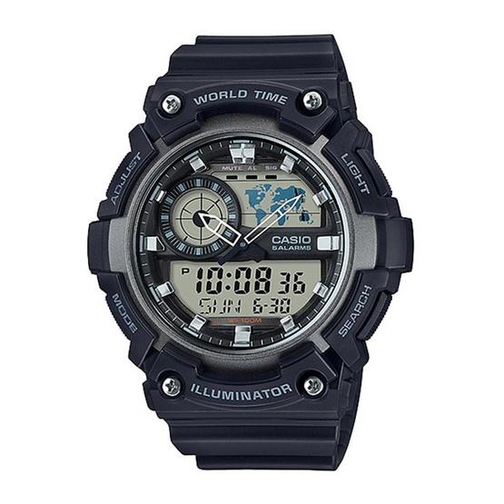 CASIO นาฬิกาข้อมือ รุ่น AEQ-200W-1AVDF