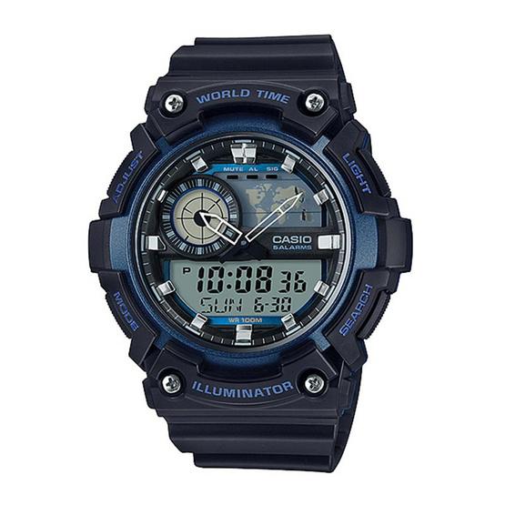CASIO นาฬิกาข้อมือ รุ่น AEQ-200W-2AVDF