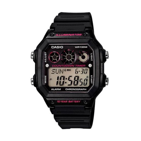 CASIO นาฬิกาข้อมือ รุ่น AE-1300WH-1A2VDF