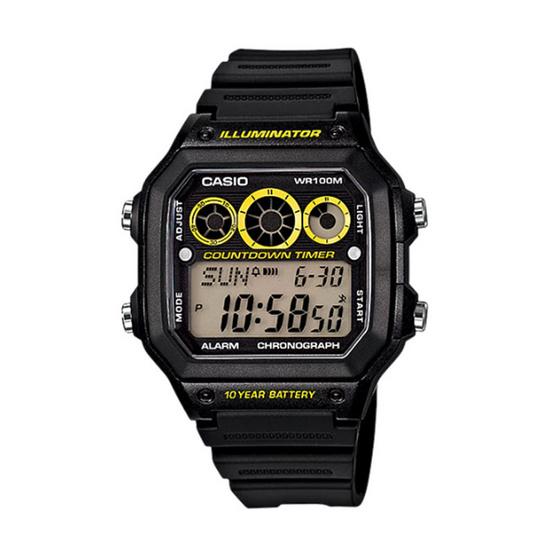 CASIO นาฬิกาข้อมือ รุ่น AE-1300WH-1AVDF