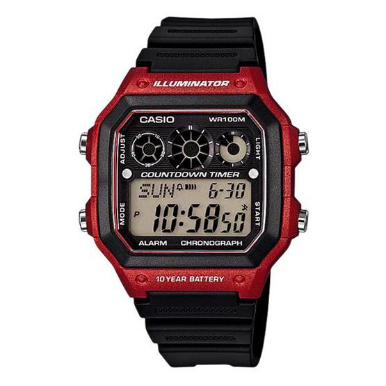 CASIO นาฬิกาข้อมือ รุ่น AE-1300WH-4AVDF