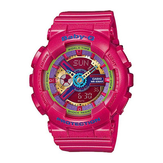 CASIO BABY-G Analog-Digital รุ่น BA-112-4ADR