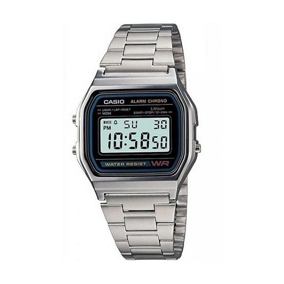 CASIO นาฬิกาข้อมือ รุ่น Digital A158WA-1DF