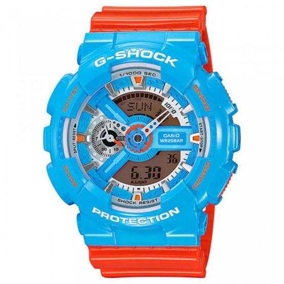 CASIO G-SHOCK นาฬิกาข้อมือ Analog-Digital GA-110NC-2ADR