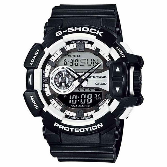 CASIO G-SHOCK Analog-Digital GA-400-1ADR
