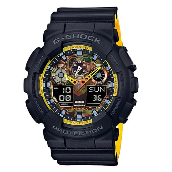 CASIO G-SHOCK นาฬิกาข้อมือ รุ่น GA-100BY-1ADR