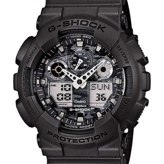 CASIO G-SHOCK นาฬิกาข้อมือ รุ่น GA-100CF-8ADR